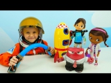 Видео для детей: Доктор Плюшева, Майлз с другой планеты и другие игрушки из мультфильмов