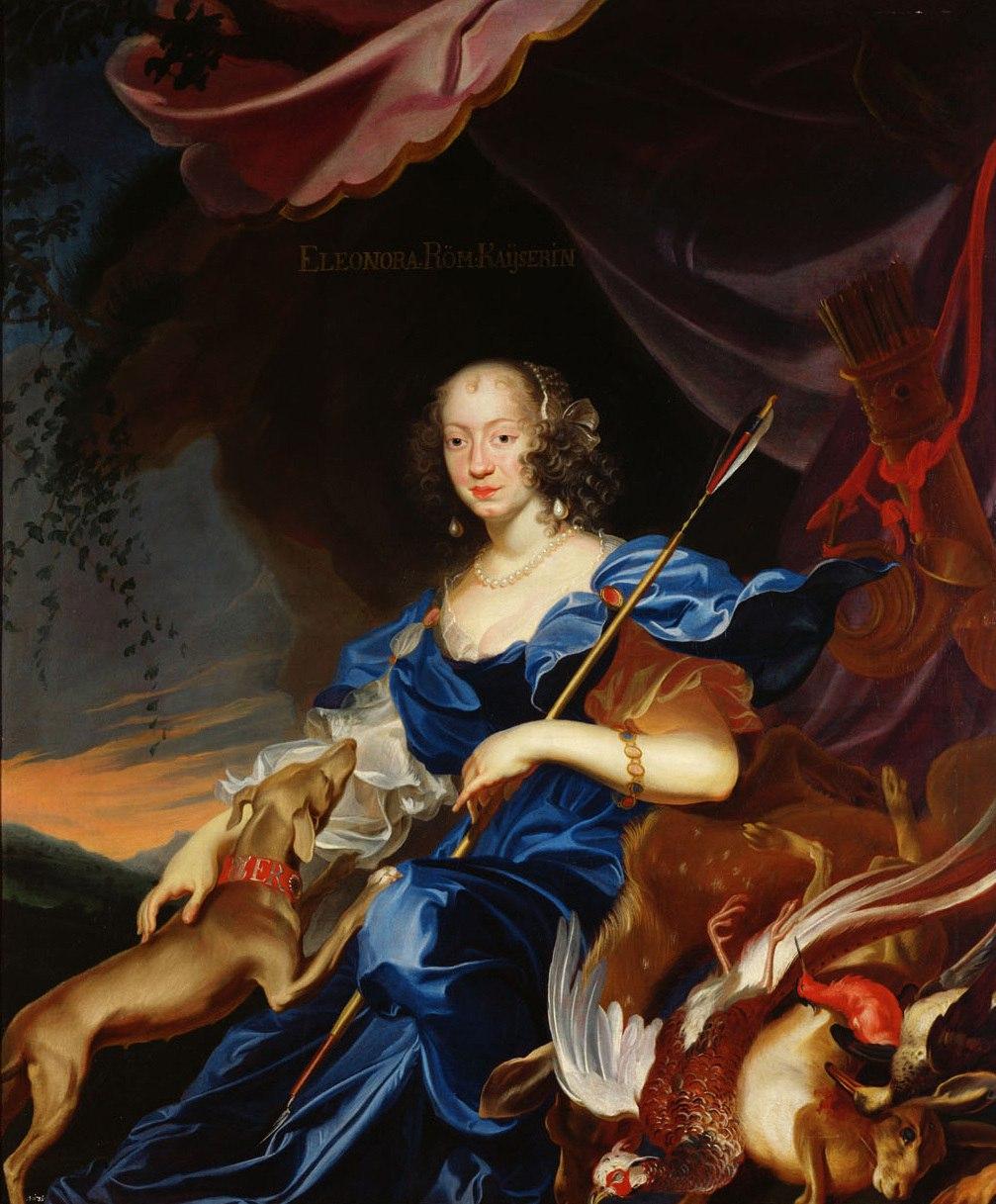 Элеонора Гонзага на портретах работы Франса Лёйкса