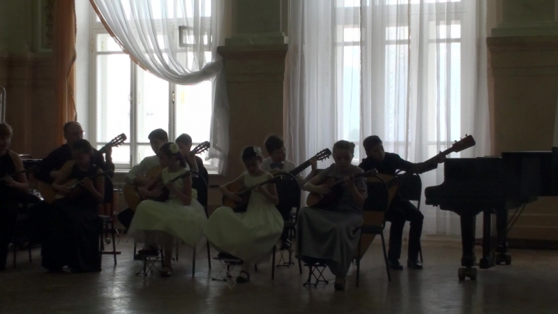 Колыбельная, исп. домрово-гитарный ансамбль Контабиле ДЦМШ Самара