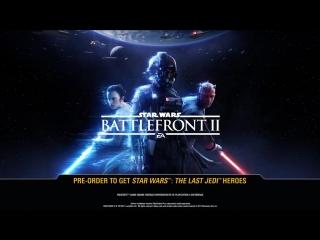 Первый тизер-трейлер Star Wars Battlefront II: Кайло Рен и Дарт Мол