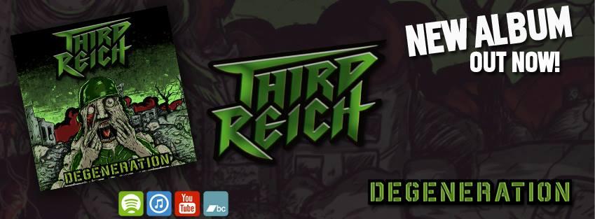 "Third Reich выпустили альбом ""Degeneration"""