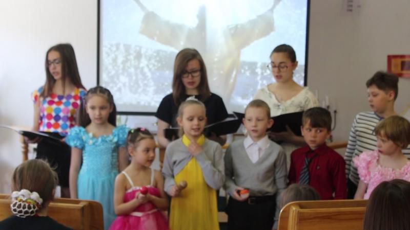 Закрытие воскресной школы май 2017 год