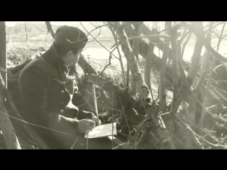 Солдат. Письмо. Великая Отечественная Война. Футаж