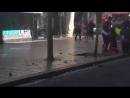 В Барселоне автобус врезался в толпу