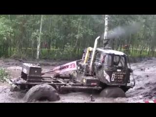 Дизельные монстры бездорожья !!! гонки по грязи 4x4