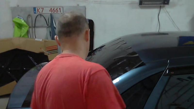 Тонировка автомобиля своими руками смотреть онлайн без регистрации