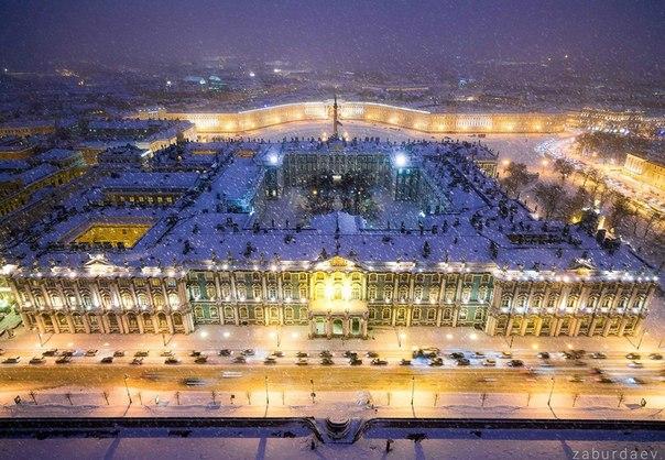 Зимний дворец, Санкт-Петербург.