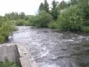 Водоотводной канал на оз Зюраткуль
