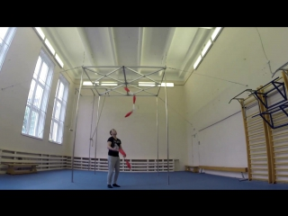 Трюки жонглера