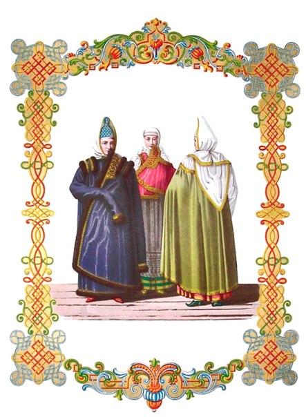 [СТРАНИЧКА ИСТОРИИ]  Мода XVIII-XIX вв.  1. Одежда царская  2. Одежда