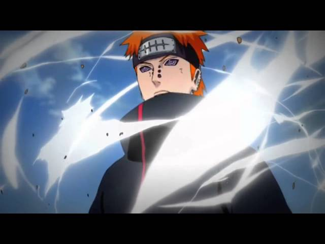 Naruto vs Pain dubstep remix