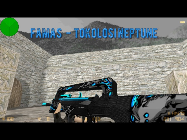 Famas | Tokolosi Neptune (HD) for cs 1.6
