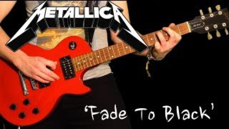 'FADE TO BLACK' by Metallica Full Instrumental Cover performed by Karl Golden