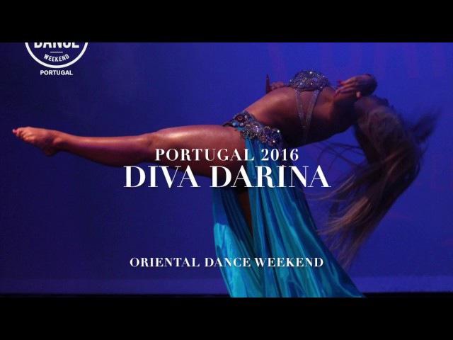 DIVA DARINA in Portugal, Lisbon 2016 Oriental Dance Weekend Pop song