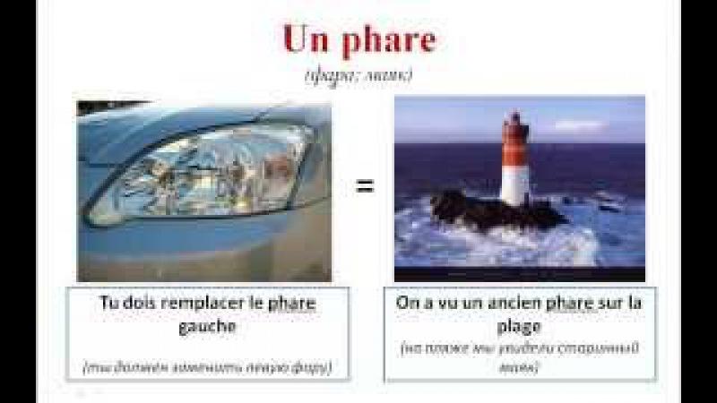 Уроки французского 76 Слова-омонимы во французском языке (часть 2)! Les homonyms français