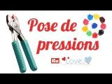 TUTO #10  Pose de boutons pressions en plastique (Pince Prym Vario Love)