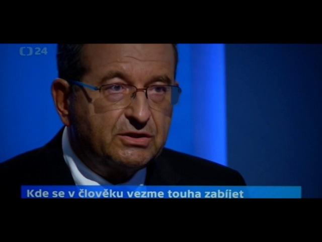 Cyril Höschl /psychiatr/ otevřeně a zcela nekorektně k islámu pro ČT