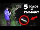 РЫБАЛКА на СОМА - 5 ШТУК за 2 ЧАСА - КЛЁВ КАК на ЧЁРНЫХ КАМНЯХ