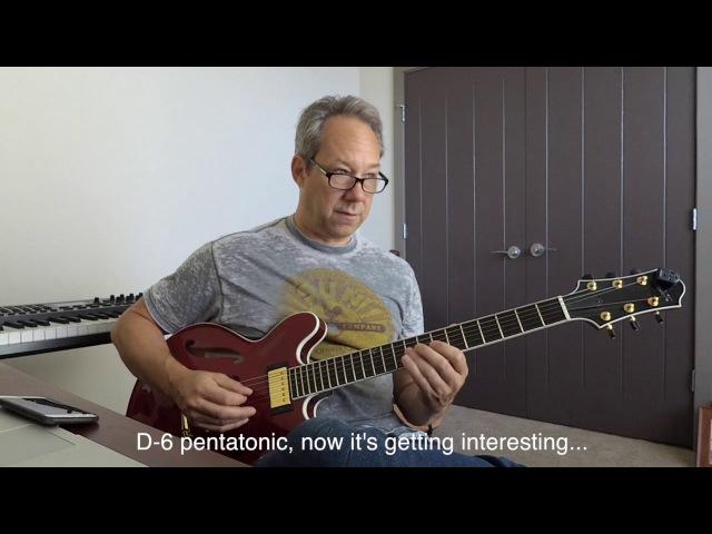 Pentatonics - Barry Greene Video Lesson Preview