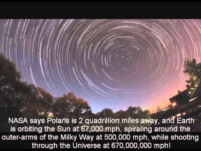 Star Trails Prove Earth is the Center of the Universe