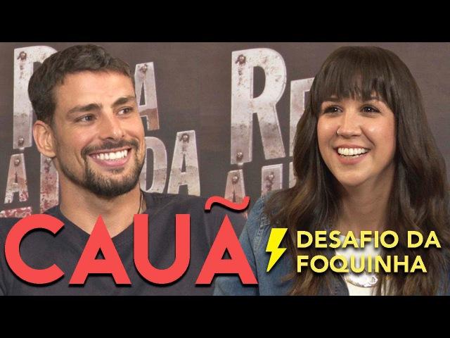 DESAFIO DOS PERSONAGENS ft Cauã Reymond Foquinha