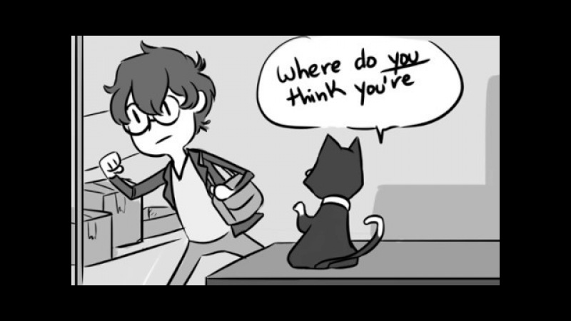 You Must Be Tired [Persona 5 Comic Dub]