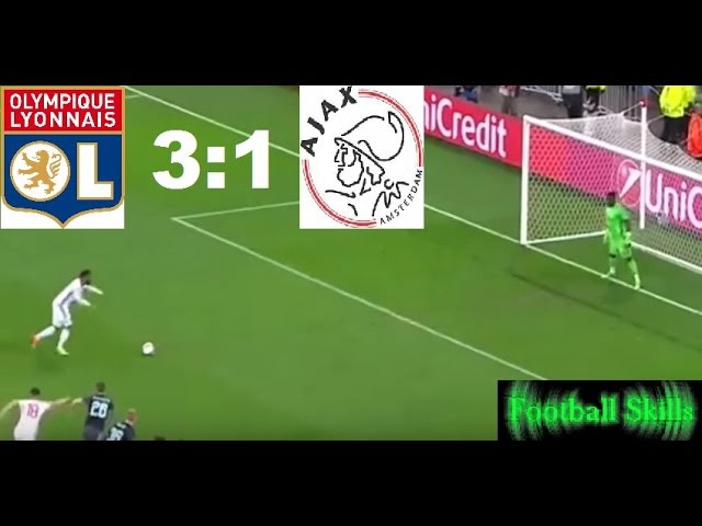Lyon Vs Ajax 3:1 in the Europa League Semifinal 11 May '17 All Goals Highlights