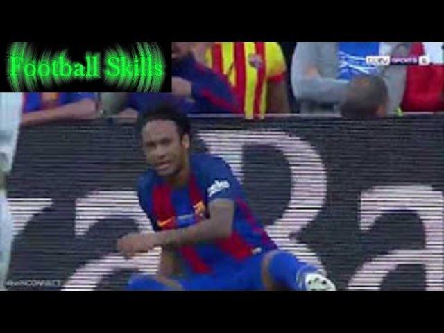 Neymar Jr. Penalty Claim | Barcelona vs Eibar 0:1 | La Liga 21/05/2017 | HD