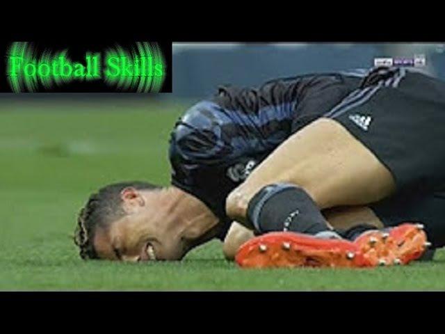 Cristiano Ronaldo Leg Injury | Malaga vs Real Madrid 0:1 | La Liga 21⁄05⁄2017 | HD