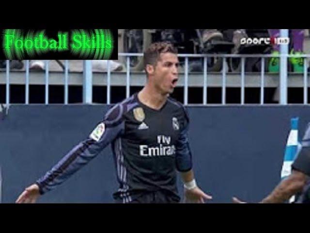 Cristiano Ronaldo Goal | Malaga vs Real Madrid | Spanish Primera Division 21/05/2017