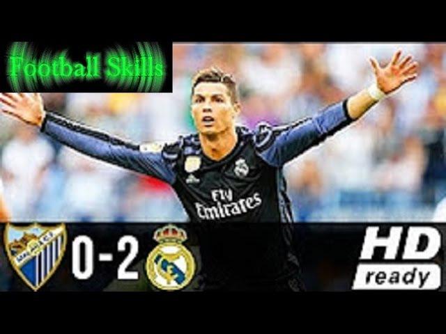 Malaga vs Real Madrid 0:2 | All Goals Highlights 21⁄05⁄2017 | HD