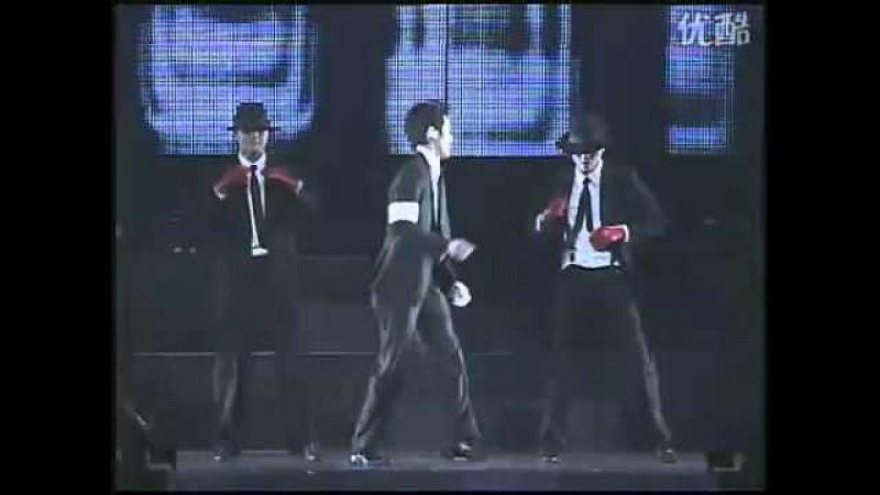 宋承憲2007年日本影迷會-模仿麥可傑克森跳舞(舞台篇)