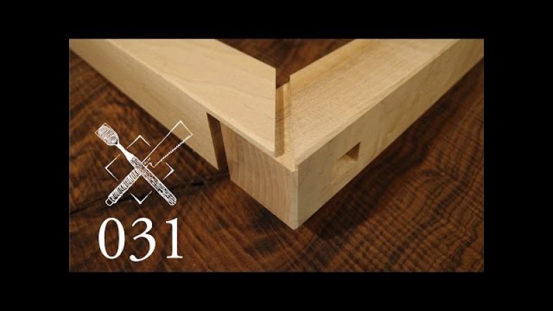 Joint Venture Ep. 31: Haunched through tenon with mitered face