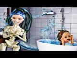 Мультик Барби Приключения в ванной как воспитывает детей Мама Барби. куклы Барб ...