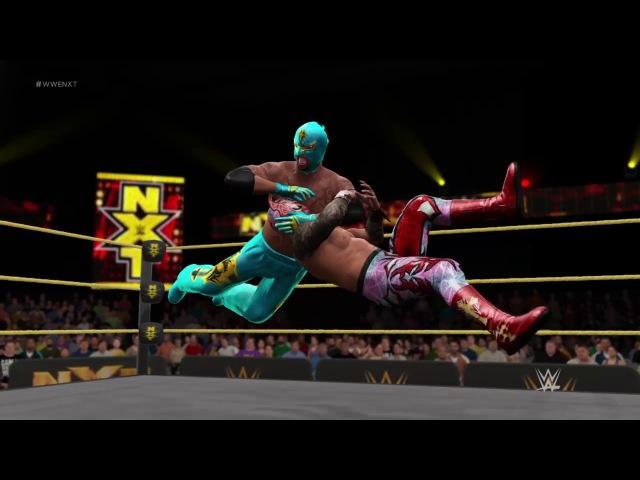 Rey Mysterio vs Sin Cara Cruiserweight Championship