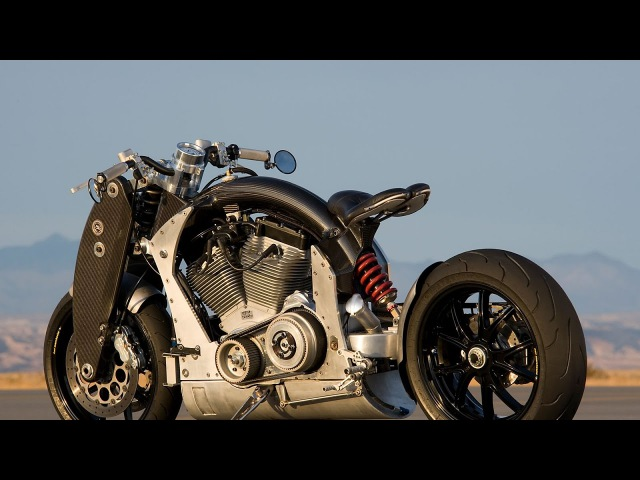 Confederate Wraith B120 Art of Rebellion by Confederate Motorcycles Co.