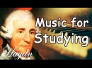Haydn Study Music Piano Playlist Classical Music for Studying Concentration Relaxation Mix