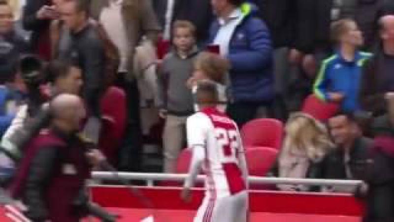 Ajax Hakim Ziyech Flowers Fail