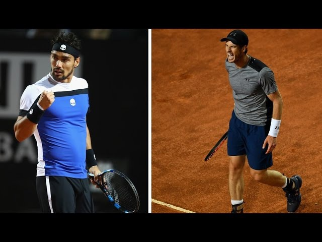 Fognini Humiliates World No. 1 Murray - Highlights Rome 2017 [HD]