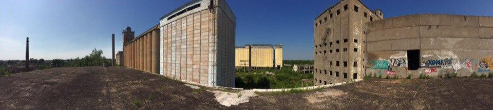 Полузаброшенный элеватор в г. Белогорск