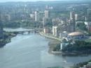 панорама с башни Высоцкий, г. Екатеринбург 52 этаж.