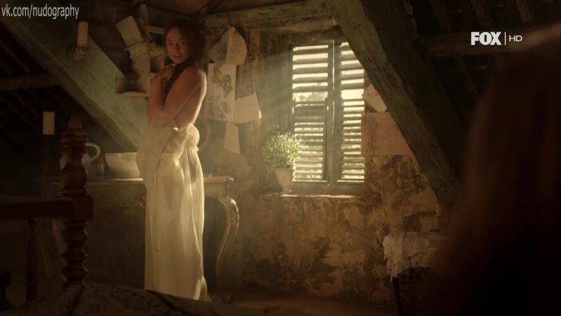 Обнажённая Лора Хэддок (Laura Haddock) в сериале
