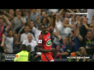 Анже - ПСЖ 0:1. Обзор матча. Кубок Франции 2016/17. Финал.