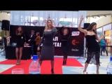 Видео #3 100 девушек станцевали в ТЦ Ауре перед жюри конкурса Мисс Европа плюс