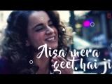 Meet Lyrical Video Song Simran Arijit Singh Kangana Ranaut Sachin-Jigar