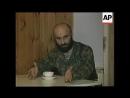 Басаев в сентябре 1995 года, съемки американского информагентства