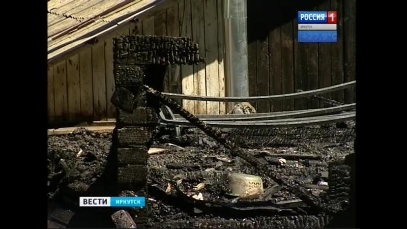 Мастерская по реставрации старинной мебели горела в Иркутске