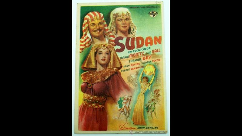 Sudan (1945) Maria Montez Jon Hall Turhan Bey