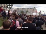 Жестокие задержания оппозиционеров на митинге 12 июня