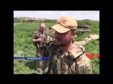 ВСУ сожгли БМП террористов , корректируя огонь СПГ-9 с беспилотника,